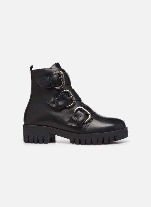 Bottines et boots Bianco BIACECILE TRIPLE BUCKLE BOOT 26-50219 Noir vue derrière