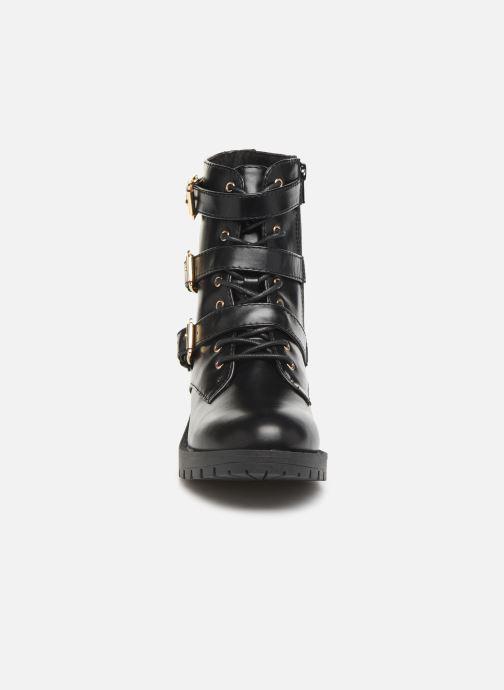 Bottines et boots Bianco BIACLAIRE BASIC BIKER BOOT 26-50252 Noir vue portées chaussures