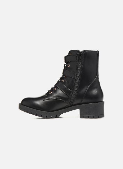 Bottines et boots Bianco BIACLAIRE BASIC BIKER BOOT 26-50252 Noir vue face