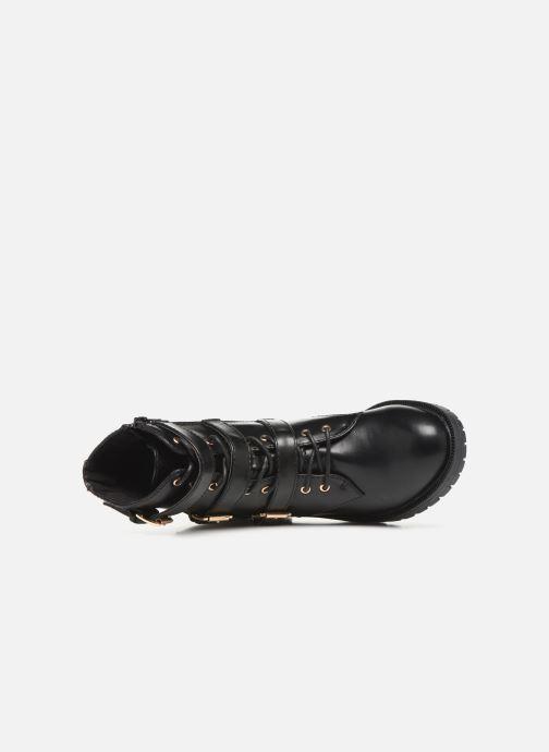 Bottines et boots Bianco BIACLAIRE BASIC BIKER BOOT 26-50252 Noir vue gauche
