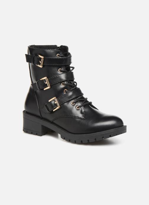 Bottines et boots Bianco BIACLAIRE BASIC BIKER BOOT 26-50252 Noir vue détail/paire