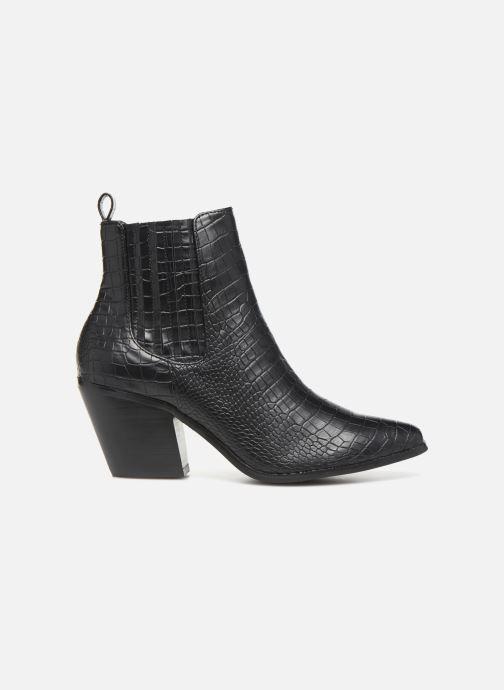 Boots en enkellaarsjes Bianco BIACLEMETIS WESTERN CHELSEA 26-50261 Zwart achterkant