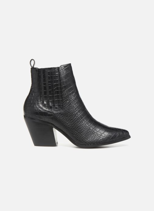 Ankle boots Bianco BIACLEMETIS WESTERN CHELSEA 26-50261 Black back view