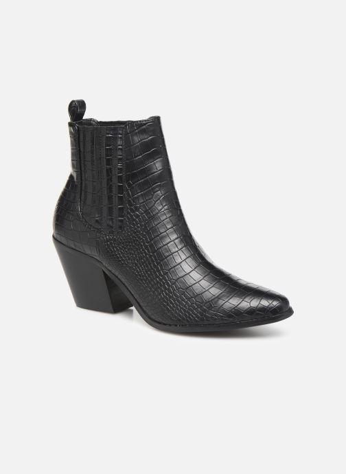 Boots en enkellaarsjes Bianco BIACLEMETIS WESTERN CHELSEA 26-50261 Zwart detail