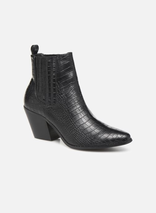 Ankle boots Bianco BIACLEMETIS WESTERN CHELSEA 26-50261 Black detailed view/ Pair view