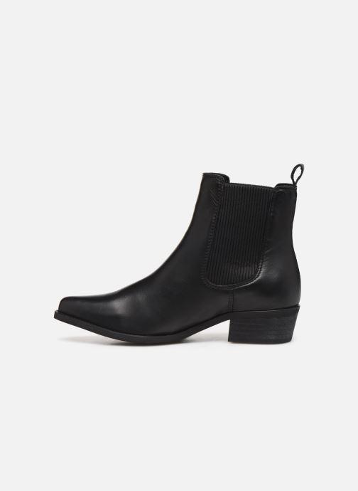 Bottines et boots Bianco BIACOCO CHELSEA WESTERN 26-50302 Noir vue face