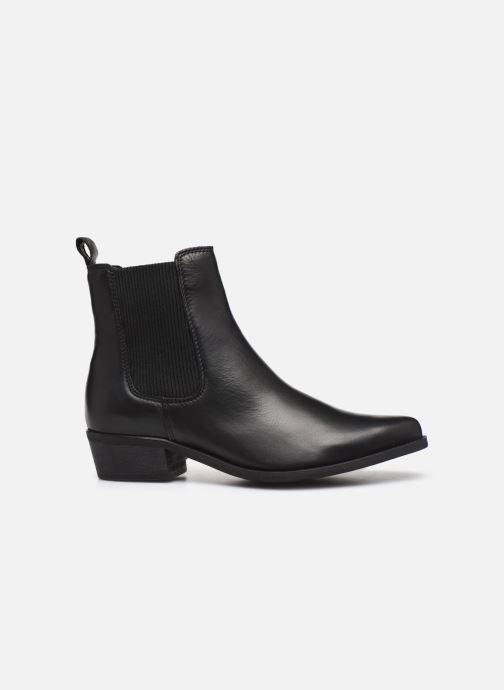 Bottines et boots Bianco BIACOCO CHELSEA WESTERN 26-50302 Noir vue derrière