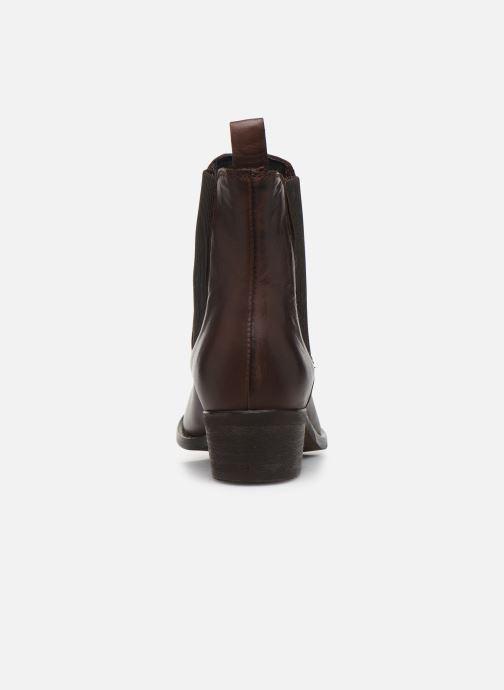 Bottines et boots Bianco BIACOCO CHELSEA WESTERN 26-50302 Marron vue droite