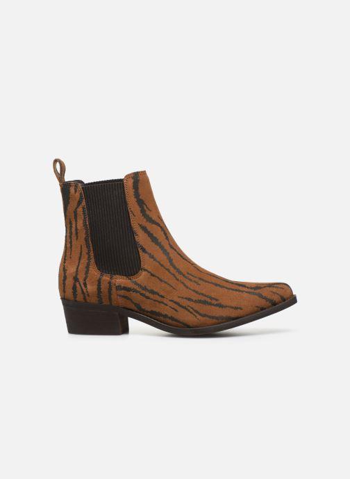 Bottines et boots Bianco BIACOCO CHELSEA WESTERN 26-50302 Marron vue derrière