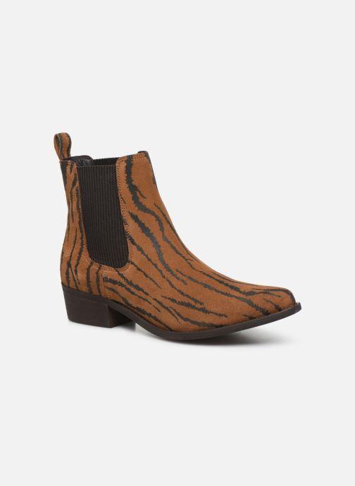 Bottines et boots Bianco BIACOCO CHELSEA WESTERN 26-50302 Marron vue détail/paire