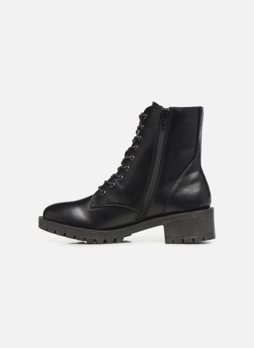 Botines  Bianco BIACLAIRE LACED UP BOOT 26-50329 Negro vista de frente