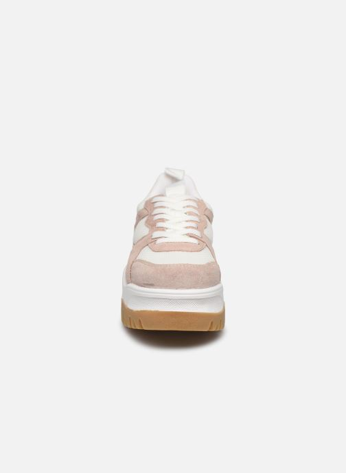 Baskets Bianco BIACOLLEENCHUNKY SNEAKER 32-50231 Blanc vue portées chaussures