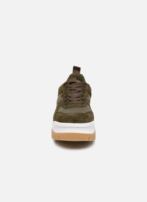 Baskets Bianco BIACOLLEENCHUNKY SNEAKER 32-50231 Vert vue portées chaussures