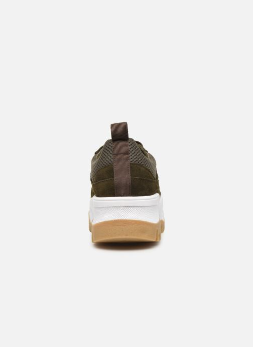 Trainers Bianco BIACOLLEENCHUNKY SNEAKER 32-50231 Green view from the right