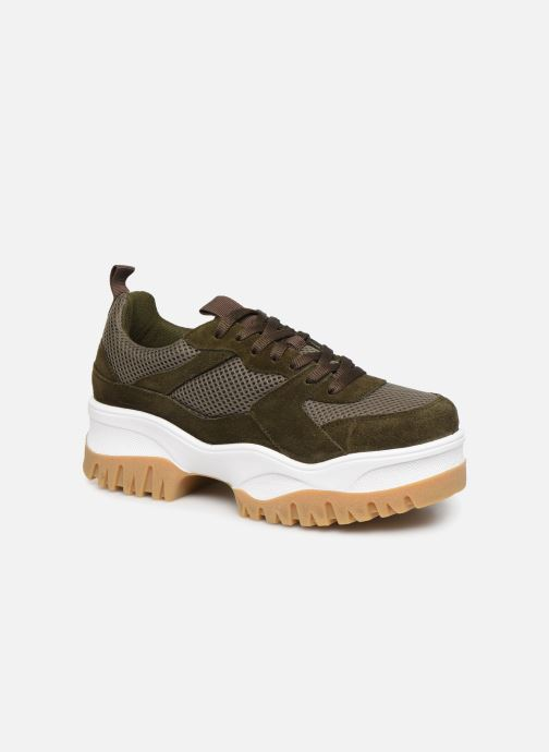 Trainers Bianco BIACOLLEENCHUNKY SNEAKER 32-50231 Green detailed view/ Pair view