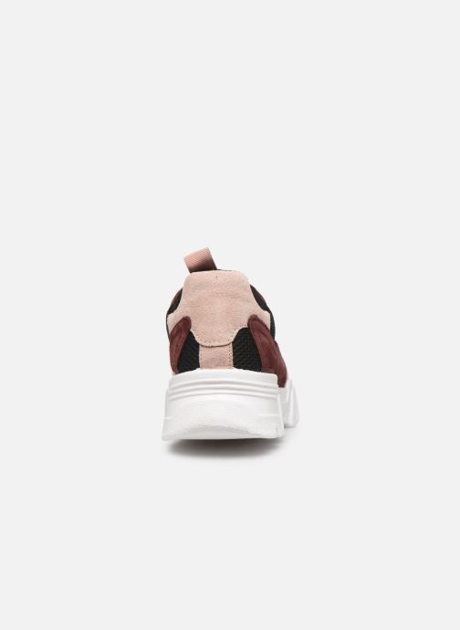 Trainers Bianco BIACANARY SUEDE SNEAKER 32-50285 Burgundy view from the right