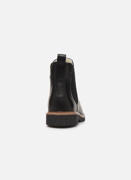 Bottines et boots Bianco BIAAGNES LEATHER CHELSEA 33-50014 Noir vue droite