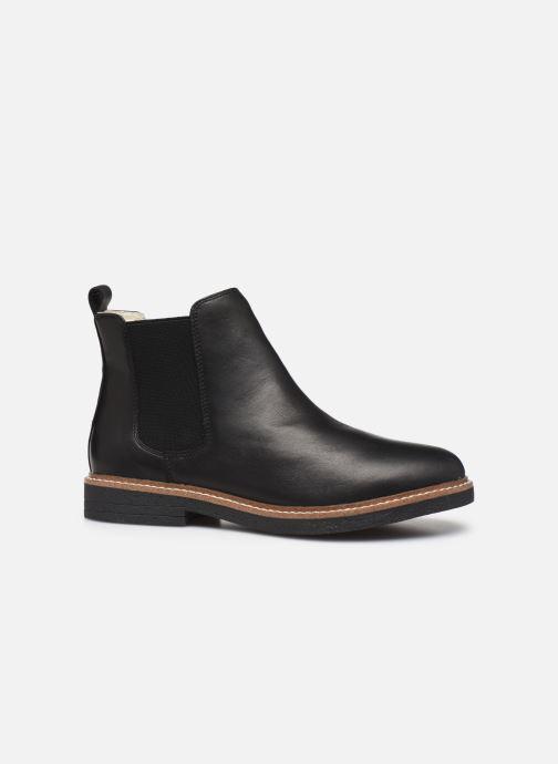 Bottines et boots Bianco BIAAGNES LEATHER CHELSEA 33-50014 Noir vue derrière