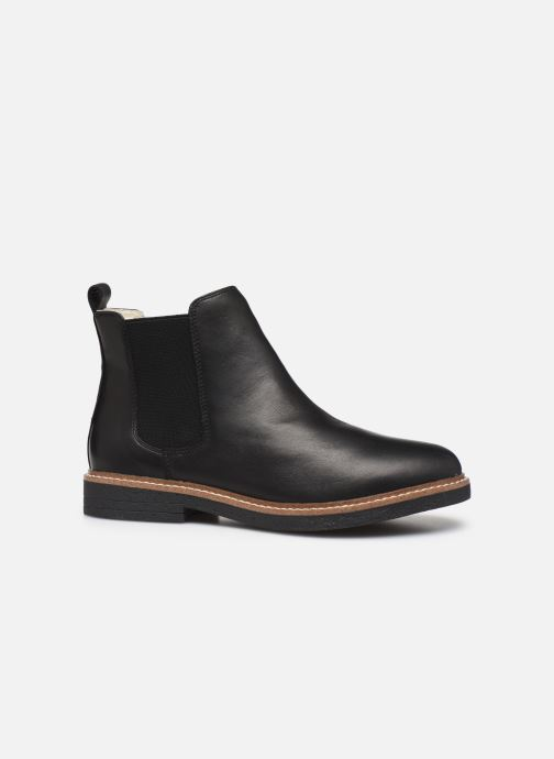 Ankle boots Bianco BIAAGNES LEATHER CHELSEA 33-50014 Black back view