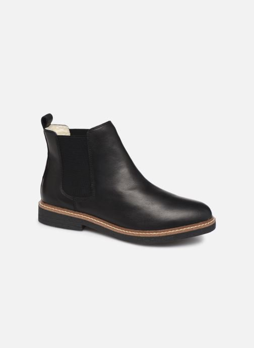 Ankle boots Bianco BIAAGNES LEATHER CHELSEA 33-50014 Black detailed view/ Pair view
