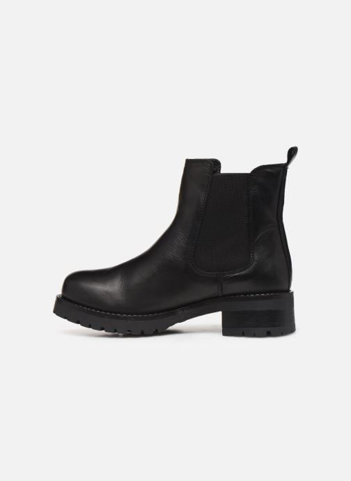 Bottines et boots Bianco BIACORAL WINTER CHELSEA 33-50236 Noir vue face