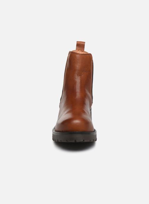 Bottines et boots Bianco BIACORAL WINTER CHELSEA 33-50236 Marron vue portées chaussures