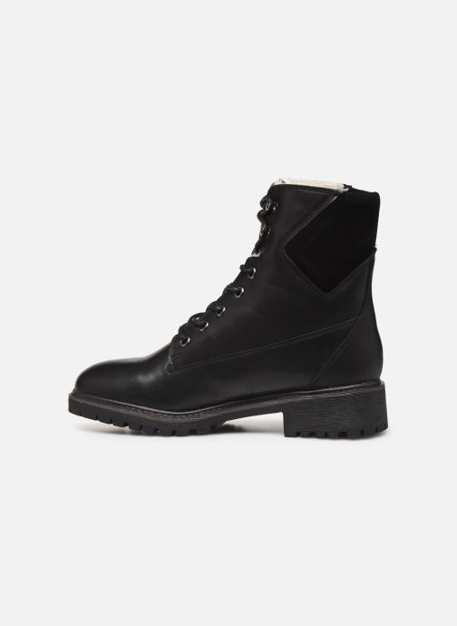 Ankle boots Bianco BIACHERYL WARM BOOT 33-50255 Black front view