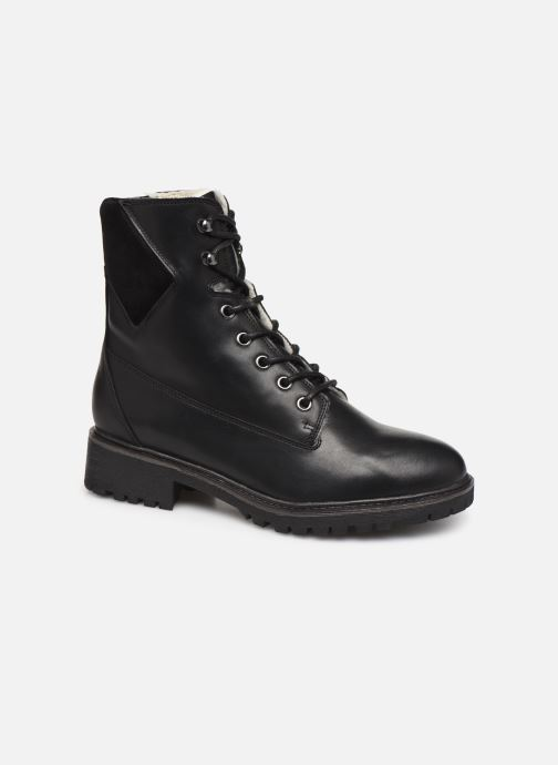 Ankle boots Bianco BIACHERYL WARM BOOT 33-50255 Black detailed view/ Pair view