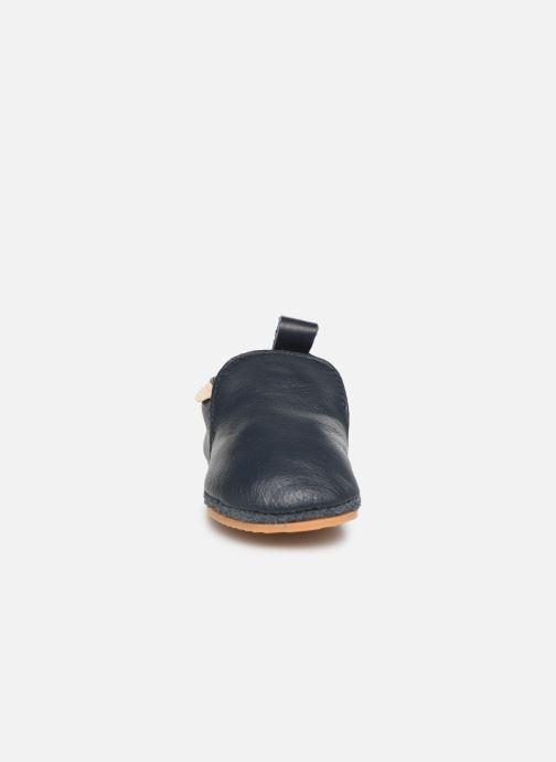 Chaussons Boumy Hagen Bleu vue portées chaussures