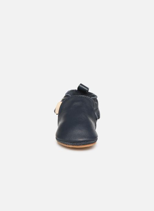 Chaussons Boumy Bao Bleu vue portées chaussures