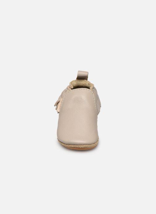 Pantofole Boumy Bao Grigio modello indossato