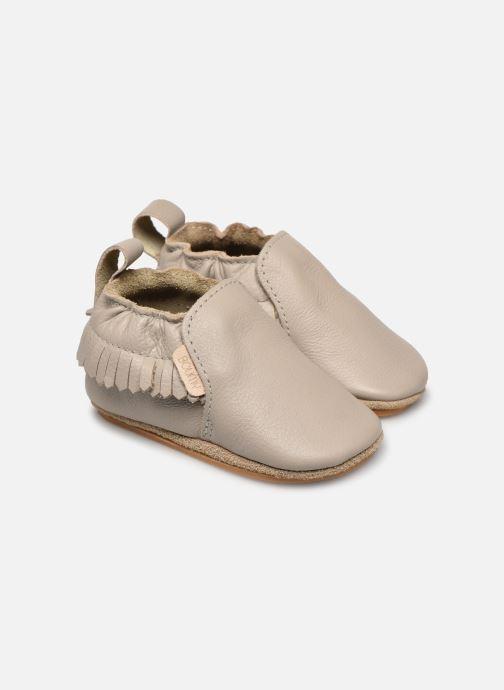 Pantoffels Boumy Bao Grijs detail