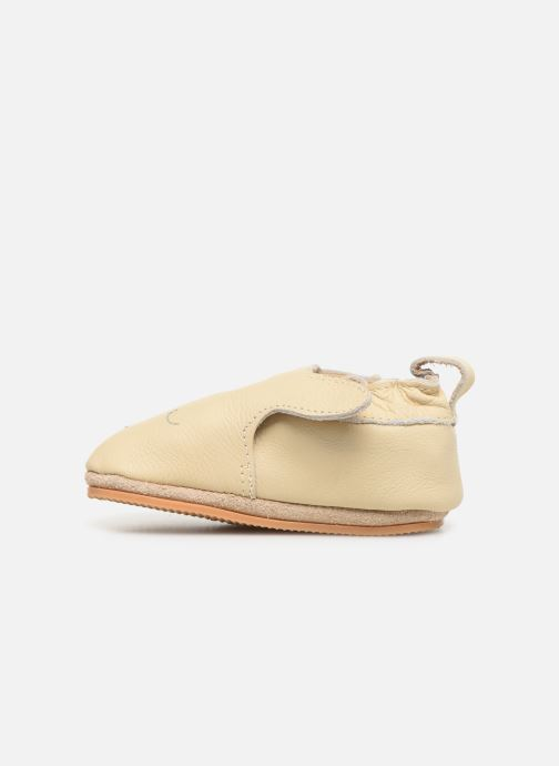 Chaussons Boumy Dune Blanc vue face