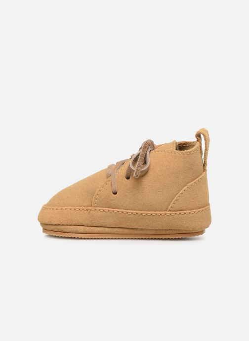 Chaussons Boumy Abu Marron vue face