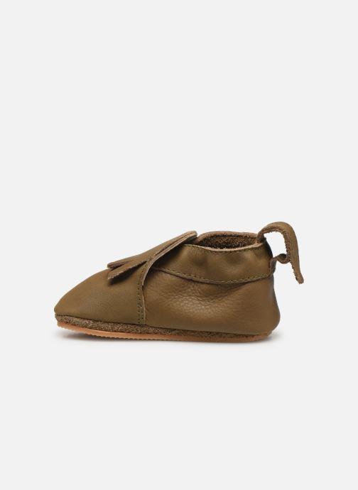 Pantofole Boumy Carmel Marrone immagine frontale