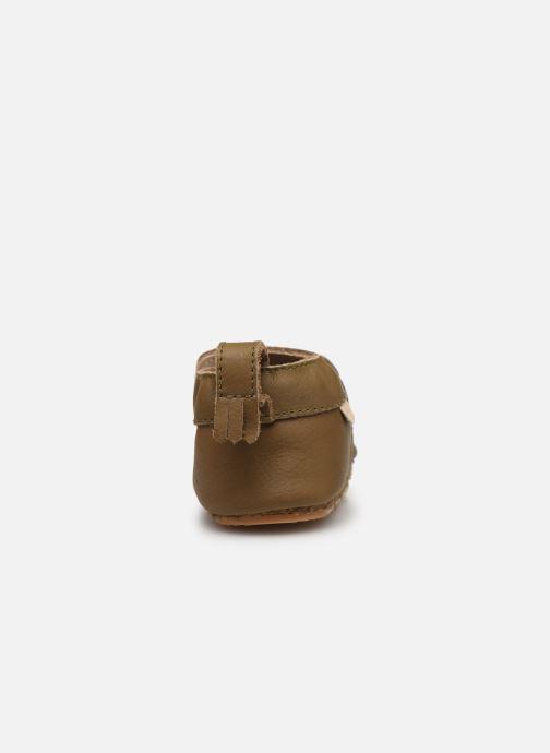 Pantofole Boumy Carmel Marrone immagine destra