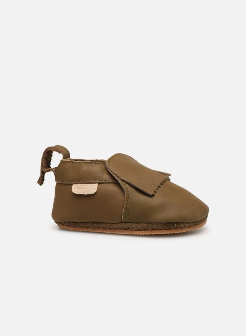 Pantofole Boumy Carmel Marrone immagine posteriore
