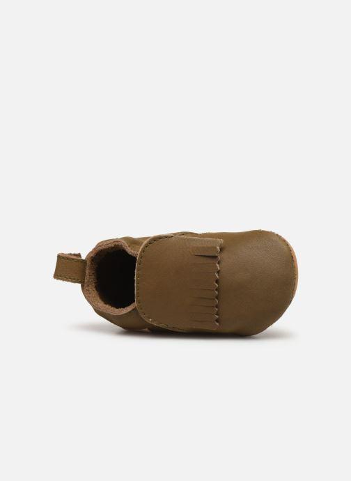 Pantofole Boumy Carmel Marrone immagine sinistra