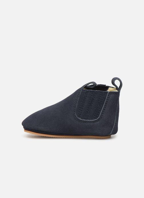 Pantofole Boumy Monzi Azzurro immagine frontale
