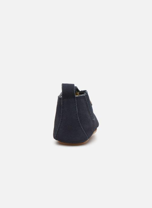 Pantofole Boumy Monzi Azzurro immagine destra