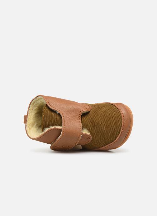 Pantofole Boumy Boet Marrone immagine sinistra