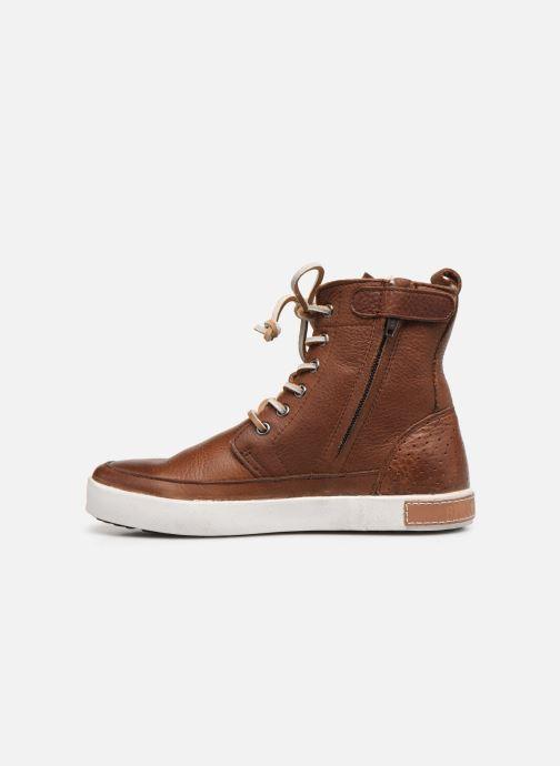 Stiefeletten & Boots Blackstone Boots High CK01 braun ansicht von vorne