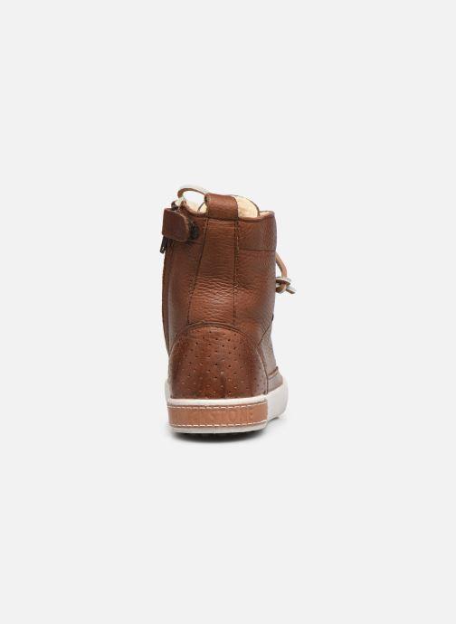 Stiefeletten & Boots Blackstone Boots High CK01 braun ansicht von rechts