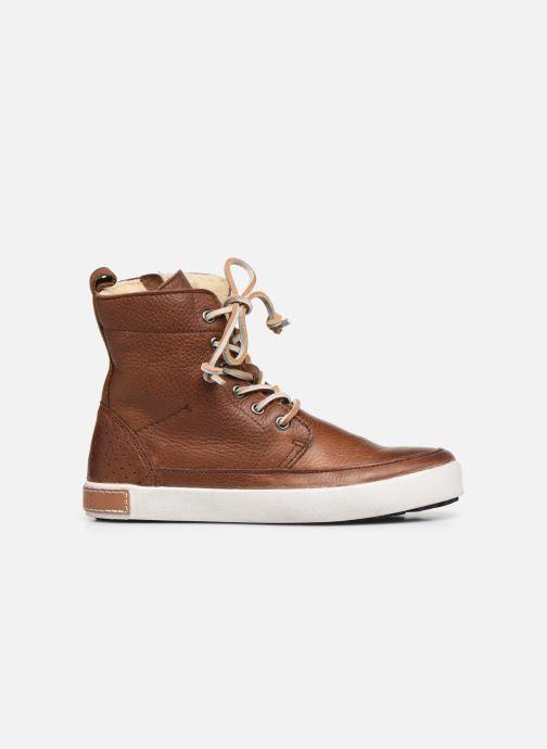 Stiefeletten & Boots Blackstone Boots High CK01 braun ansicht von hinten