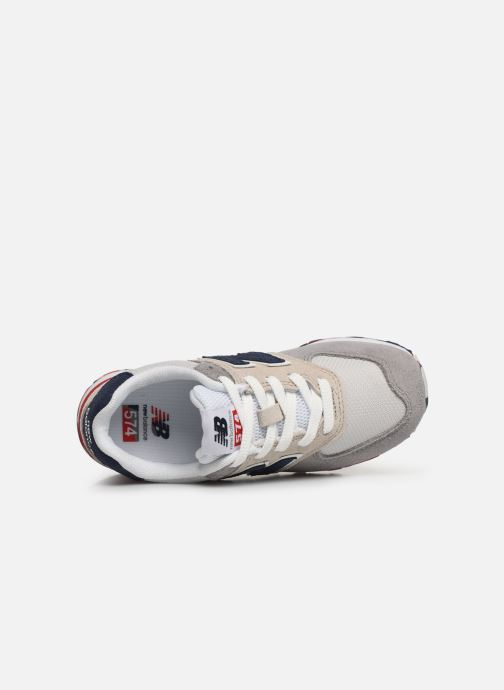 Trainers New Balance PC574 M Grey view from the left