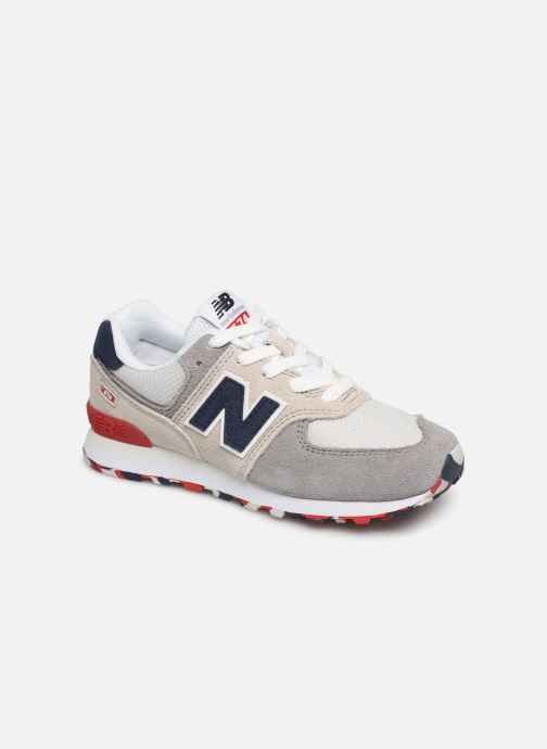 Trainers New Balance PC574 M Grey detailed view/ Pair view