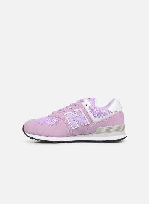Baskets New Balance PC574 M Violet vue face