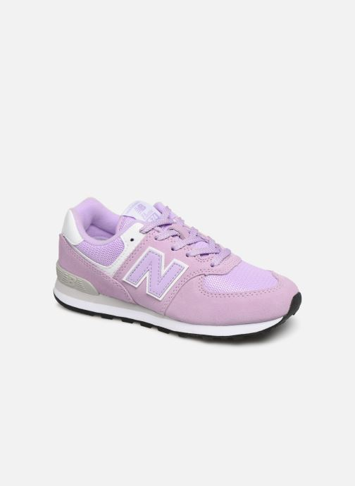 Trainers New Balance PC574 M Purple detailed view/ Pair view