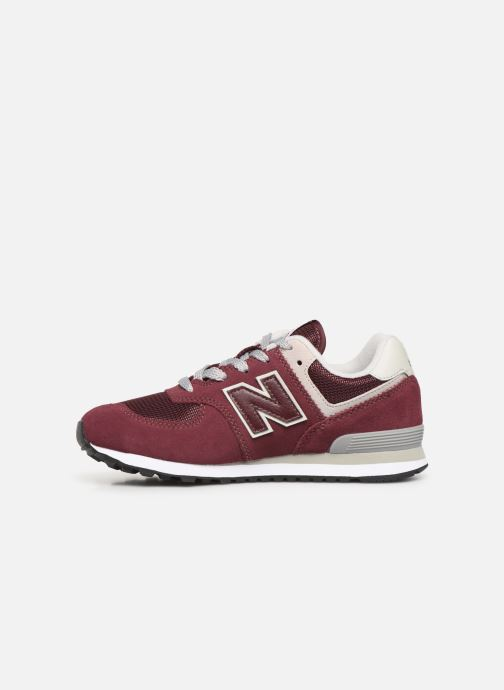 Trainers New Balance PC574 M Burgundy front view
