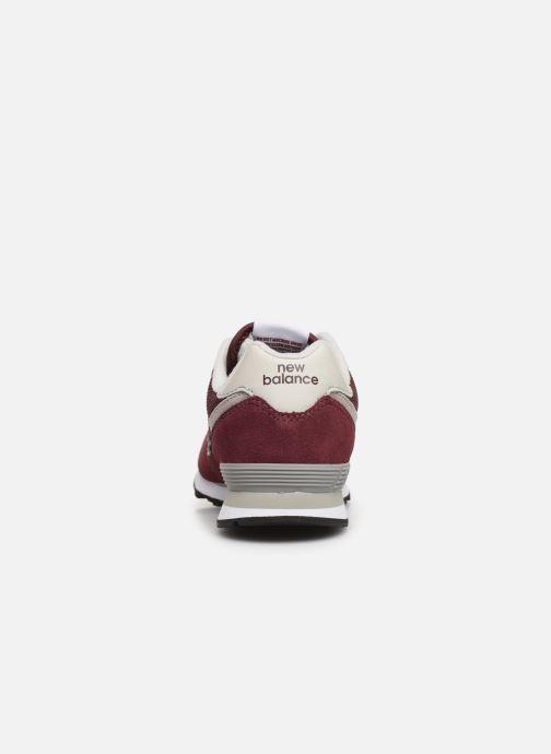 Sneakers New Balance PC574 M Bordeaux rechts
